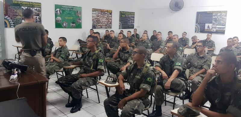 Polícia Civil:Encontro ocorreu nesta manhã, na sede do Tiro de Guerra