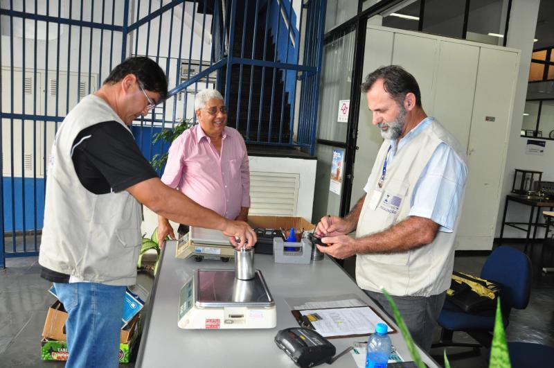 José Reis - Aferição busca proteger o consumidor ao avaliar as balanças utilizadas em feiras livres