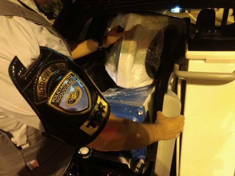 Polícia Militar Rodoviária:Produtos foram apresentados na sede da Receita Federal, em Prudente