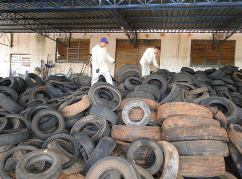 Arquivo -No ano passado, a campanha coletou 80.860 pneus, conforme dados da municipalidade