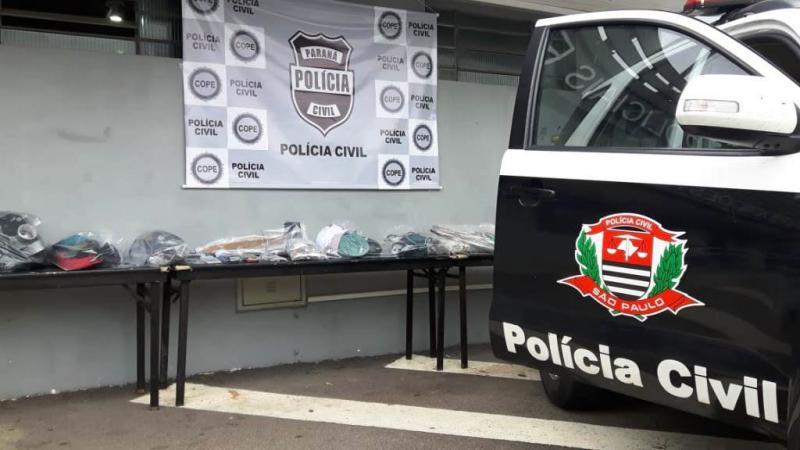 Polícia Civil:Prisões de membros da quadrilha ocorreram hoje, em Curitiba (PR)