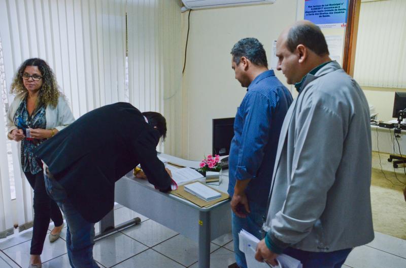 Maycon Morano/ AI da Câmara -Documento foi protocolado na manhã de ontem pelos vereadores autores do ofício