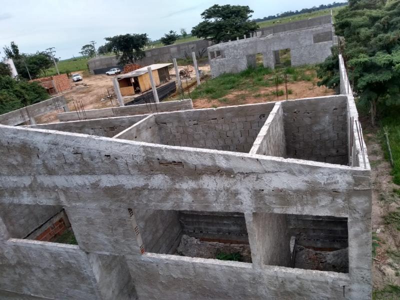 Cedida/ Flávio Passone:Centro de Evangelização está sendo construído para receber ações da igreja em Bernardes