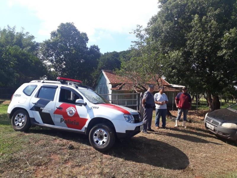Polícia Militar -  Guarnições estiveram nos locais de circulação de veículos e pessoas com destinos às áreas rurais