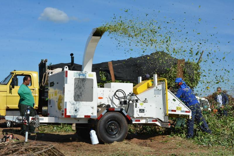 Secom - Duas máquinas trituradoras serão utilizadas no projeto, em Prudente