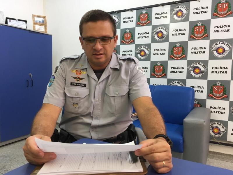 Roberto Kawasaki - Tenente Oliveira reforça importância do respeito às regras de trânsito nas rodovias