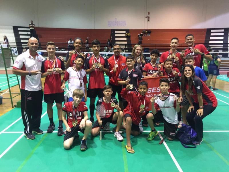 Cedida/Mayara Bacarin - Equipe Sesi de Prudente jogou junto da equipe de São José do Rio Preto na competição