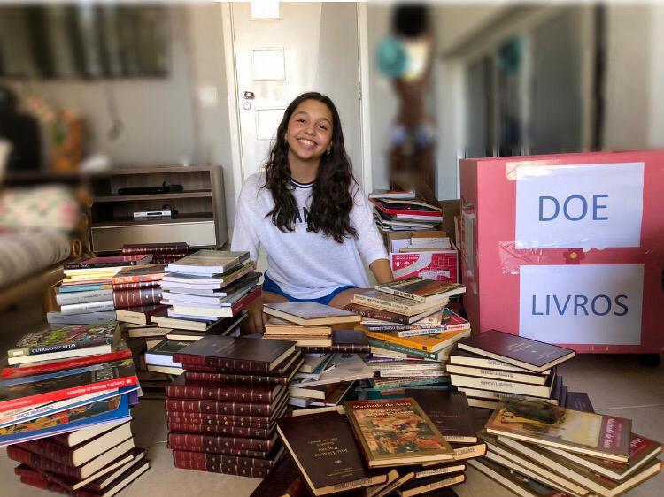 Mariana Betônico/Cedida:Mariana: projeto tem relação com gosto pela leitura e vontade em fazer algo pela cidade