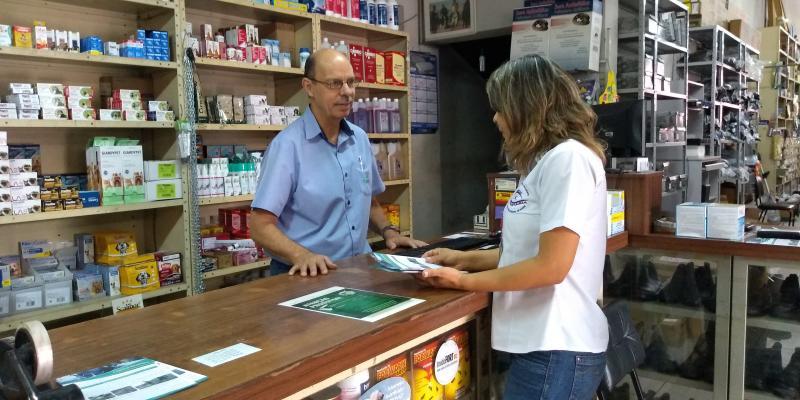 Weverson Nascimento -Campanha busca conscientizar os comerciantes e a população sobre a ilegalidade no uso