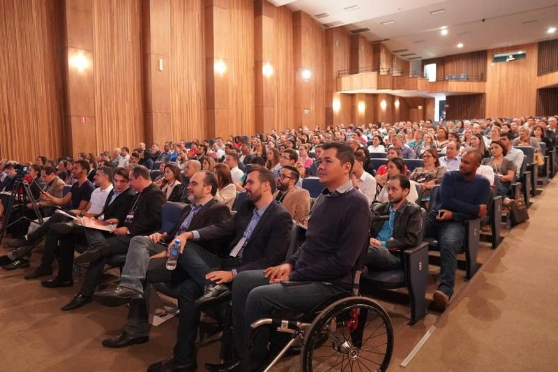 Público presente no 5º Meeting Unimob