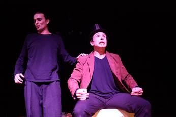 """Divulgação/ AI Mídia Produções Artísticas:Espetáculo """"Quincas Borba"""" é uma obra adaptada do escritor Machado de Assis"""