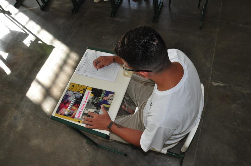 José Reis -Encontros permitem que reeducandos escrevam resenhas