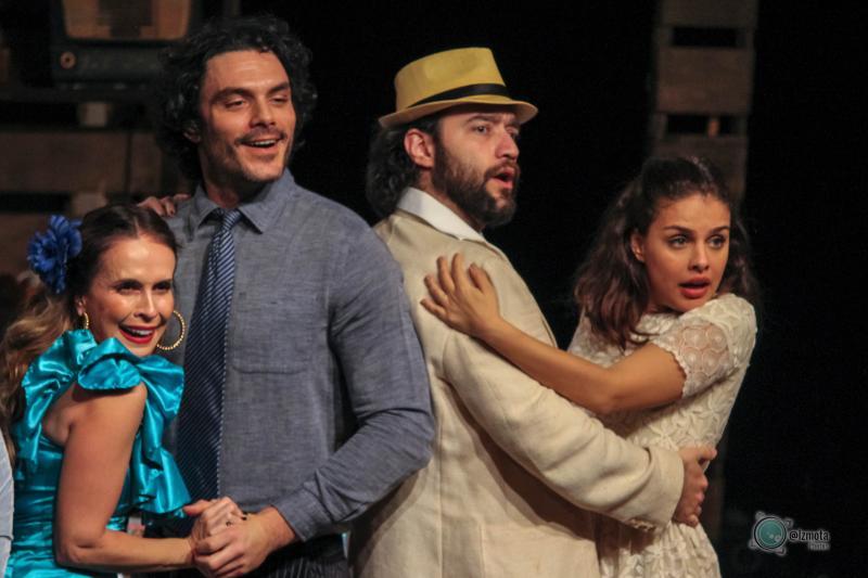 Cedida/ Izmota:Espetáculo é um clássico de Gianfrancesco Guarnieri
