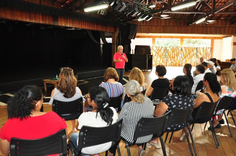 José Reis  - Evento reuniu cerca de 50 pessoas no Sesc Themas de PP