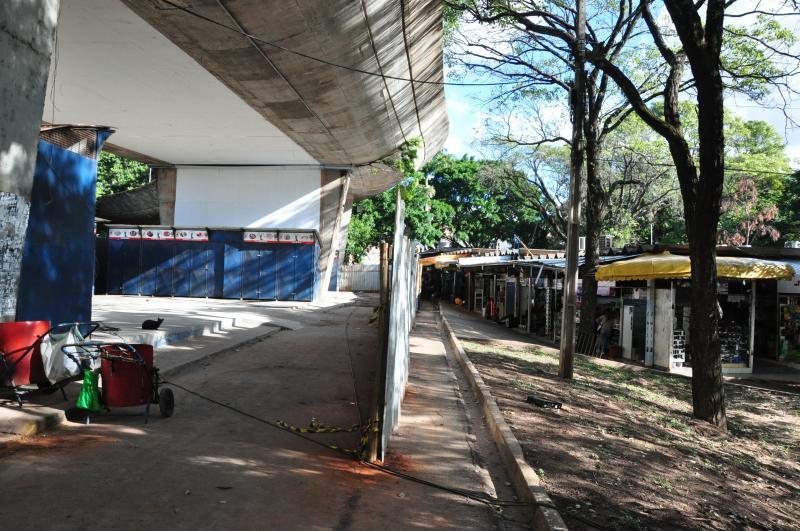 José Reis - Obras de instalação do local provisório entram na fase final
