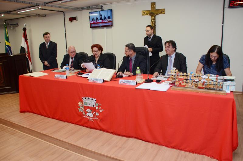 Câmara Municipal de Presidente Prudente - Vereadores aprovaram quatro Projetos de Lei na sessão ordinária de segunda-feira