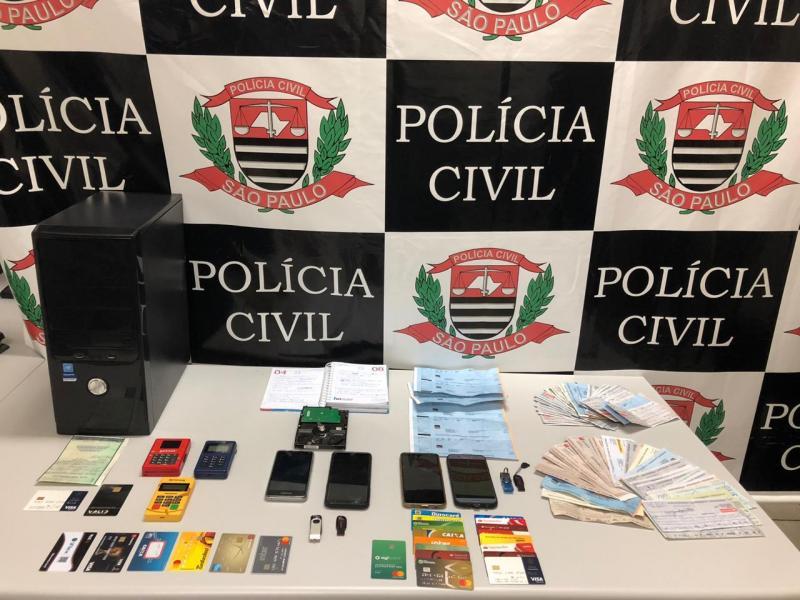 Polícia Civil:Materiais serão analisados no decorrer da investigação