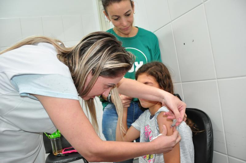Arquivo - Grupo das crianças atingiu 73,6% de imunização na campanha