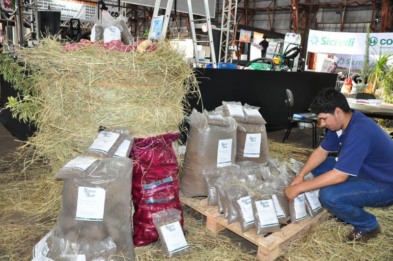 José Reis - Fertilizantes orgânicos produzidos na região são lançados na feira
