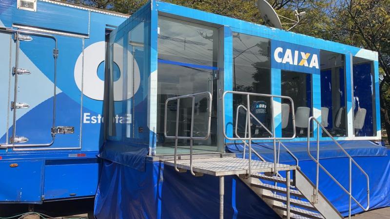 Cedida/AI Caixa - Unidade móvel de atendimento estará em Prudente até sexta