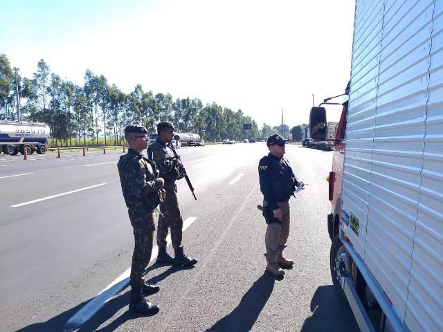 Exército Brasileiro:Fiscalização de produtos controlados é realizada de forma rotineira pelo Exército Brasileiro