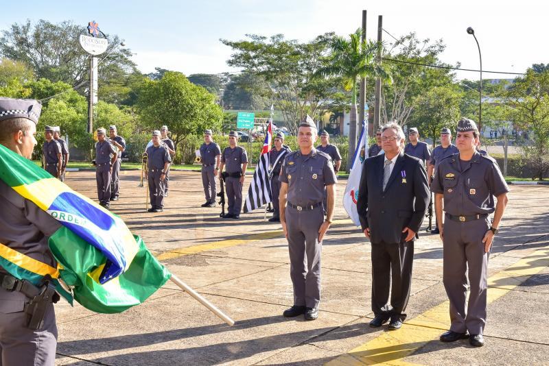Cedida/Ector Gervasoni - Reconhecimento ocorreu no pátio do Comando de Policiamento do Interior, em Prudente
