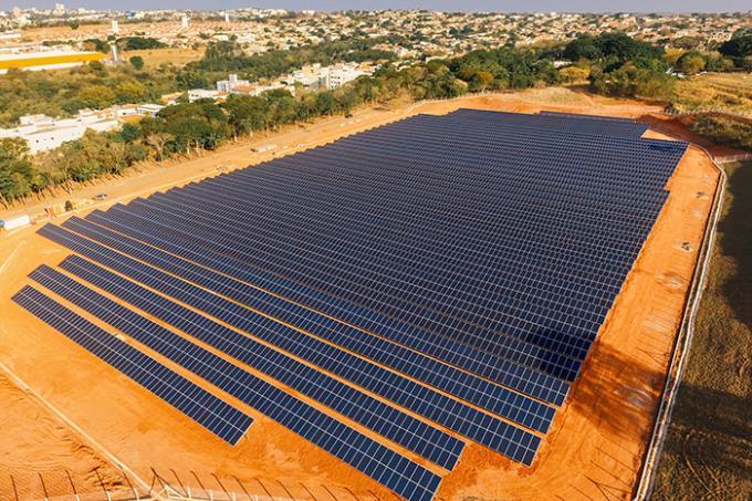 Cedida/Unoeste - Energia gerada é capaz de abastecer até 2,5 mil residências