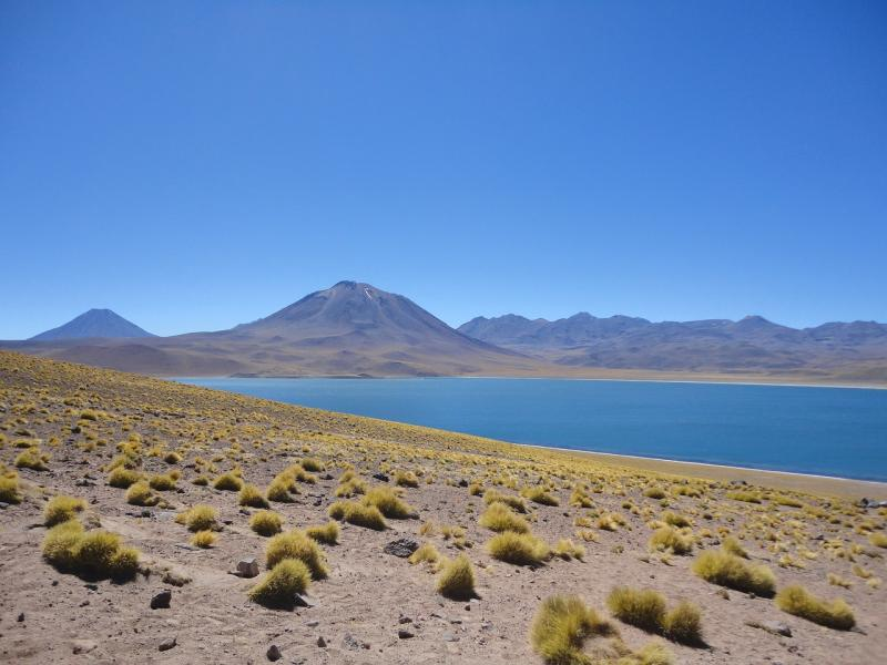 Lagoas Altiplânicas estão localizadas a cerca de 4.150 metros