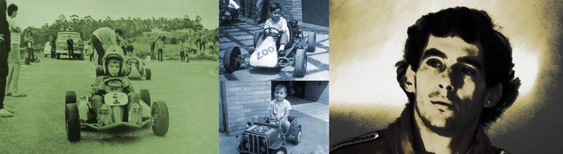 Divulgação:Produção trará lembranças da infância e adolescência de Ayrton Senna, em Tocantins; direção e roteiro serão feitos pelo prudetino Vicentini Gomez