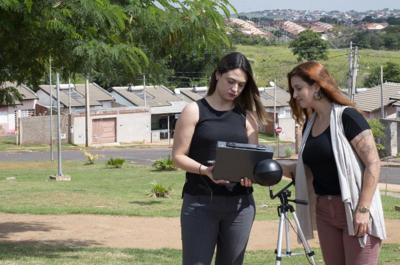 Erika Foglia/Unoeste - Pesquisadoras Djanine e Suzana percorreram três conjuntos habitacionais de Prudente