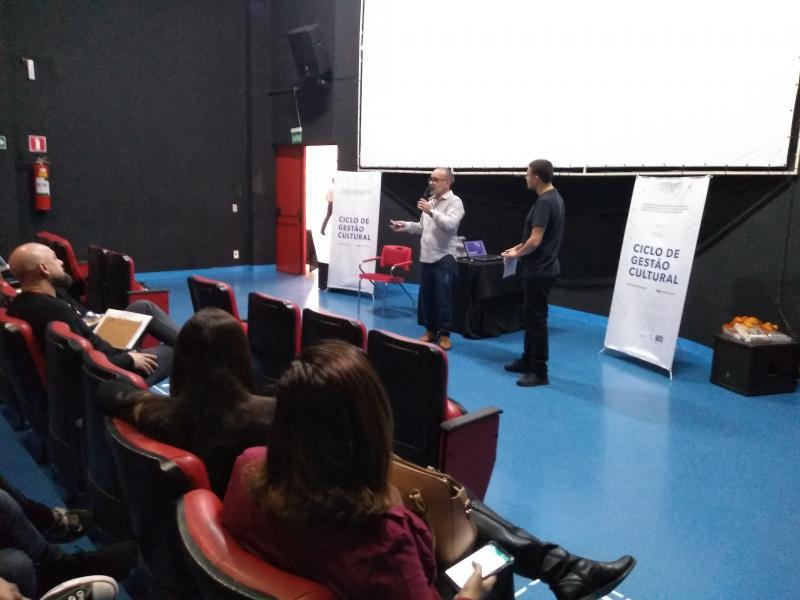 Weverson Nascimento:Evento, sediado pelo Matarazzo, propôs capacitar os gestores públicos a cerca da discussão da economia criativa