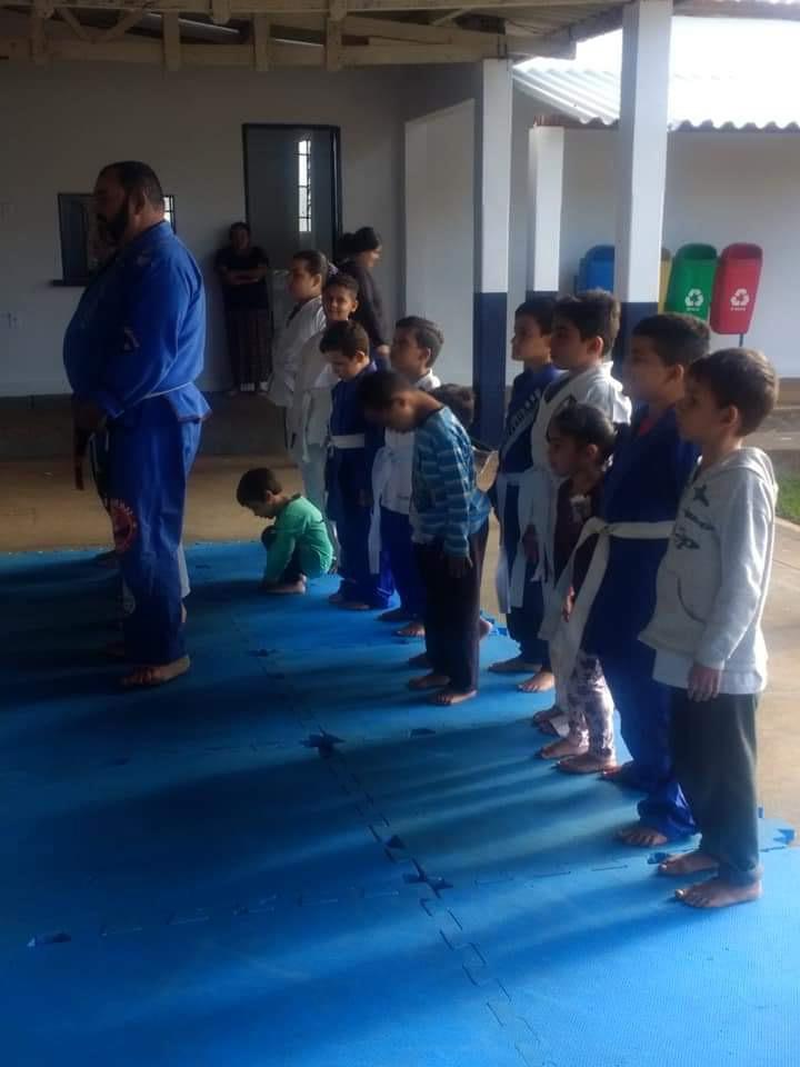 Fotos / Cedida:18 crianças, com idade acima de 4 anos praticam o esporte