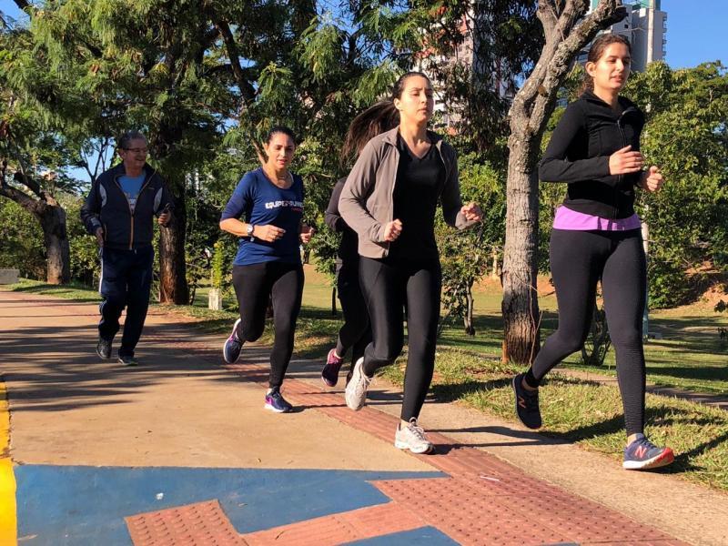 Fotos: Letícia de Mattos Oishi / Cedida -  Percurso dos participantes foi dividido de duas formas, sendo 3 km de caminhada ou 6 km de corrida