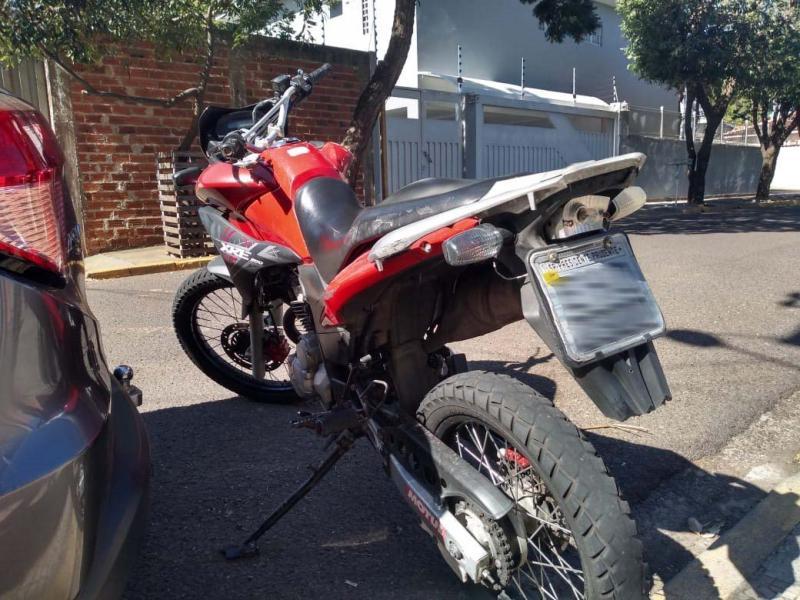 Roberto Kawasaki -Motocicleta apreendida era conduzida por adolescente
