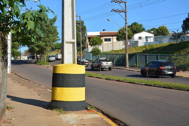 Marcos Sanches/Secom - Interior de estrutura é formado por 30% de borracha e 70% de areia lavada