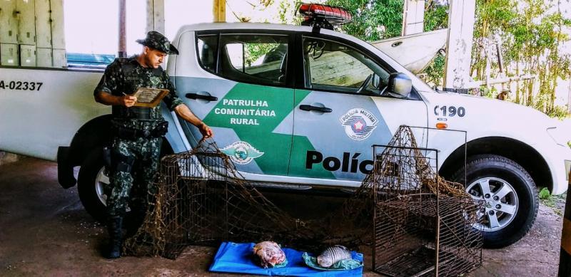 Polícia Militar Ambiental:Ocorrência foi registrada próximo ao córrego Jacutinga