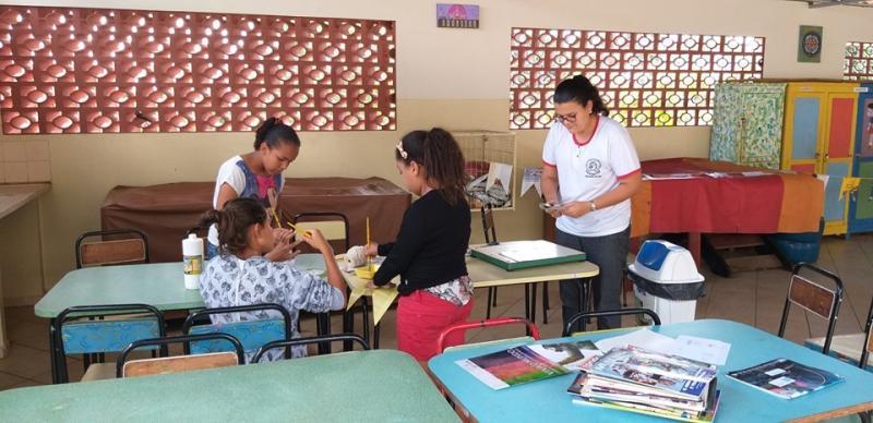 Educandário São José/Cedida:Entidade atende crianças e adolescentes em duas faixas de idade: 6 a 15 anos, e 16 e 17 anos