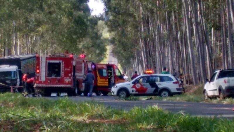 Facebook/Mirante+Mais:Acidente ocorreu em estrada vicinal, em Mirante do Paranapanema