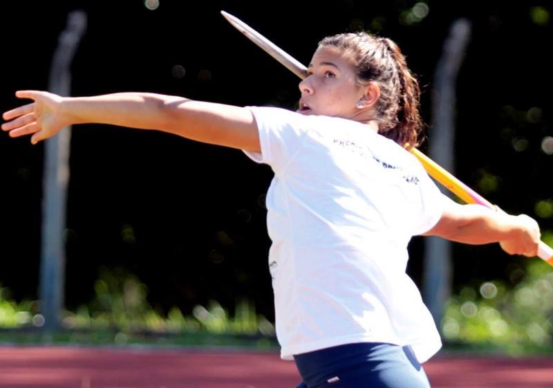 Arquivo - Atleta do lançamento de dardo promete dar todo gás em seu primeiro Pan-Americano