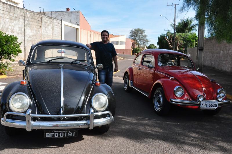 José Reis - Vitor Augusto tem orgulho de seus dois Fuscas