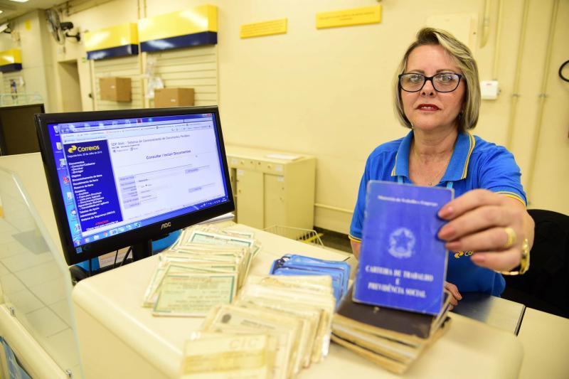 Paulo Miguel - Documentos são acondicionados e ficam disponíveis para retirada durante 60 dias