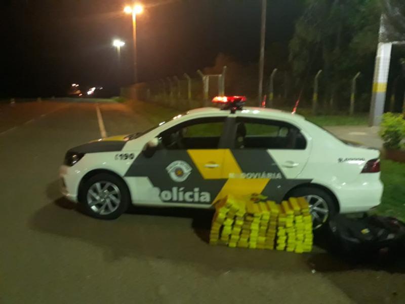 Polícia Militar Rodoviária:Drogas foram adquiridas no Estado do Mato Grosso do Sul