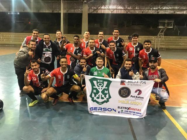 Cedida - Rotta Madry comemora uma década, vaga para a final e classificação para Série Ouro do Municipal de Futsal