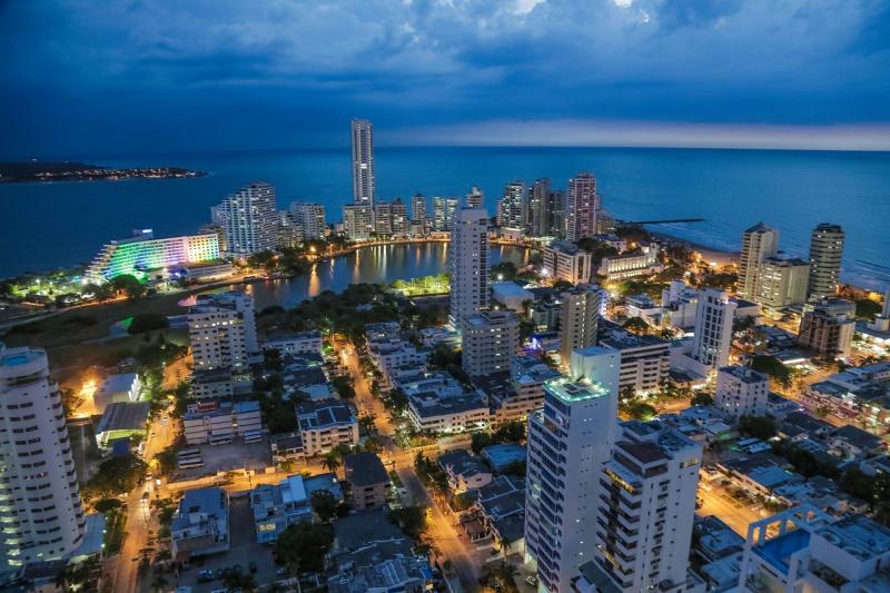 Cartagena das Índias: Cidade histórica preservada no Caribe colombiano. É considerada um dos melhores destinos da América do Sul.