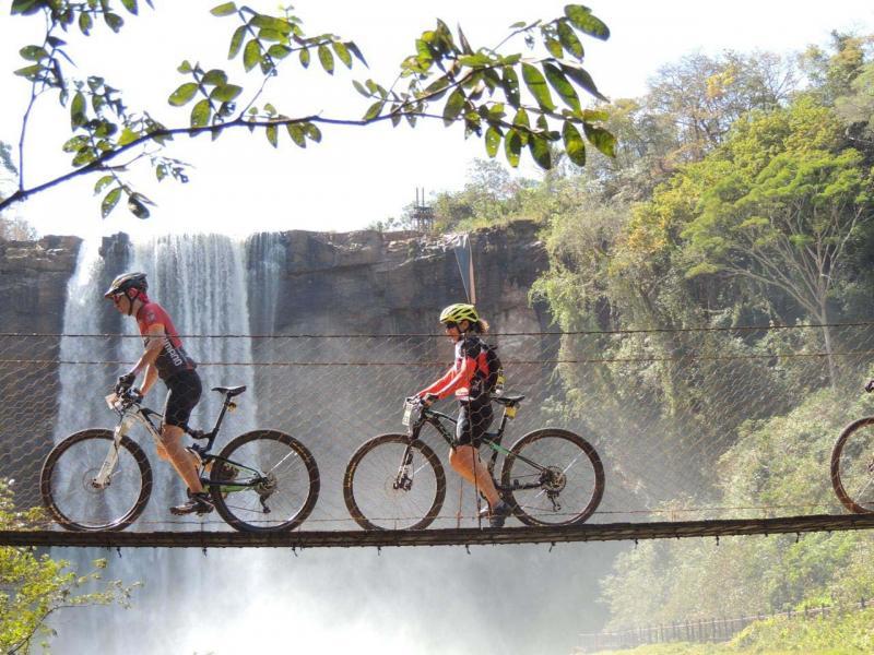 Divulgação/Sérgio Sakate - 600 atletas de várias partes se aventuraram em quase 30 km em meio a natureza