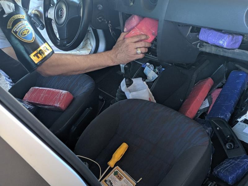 Polícia Militar Rodoviária:Drogas estavam dentro de veículo na Raposo Tavares