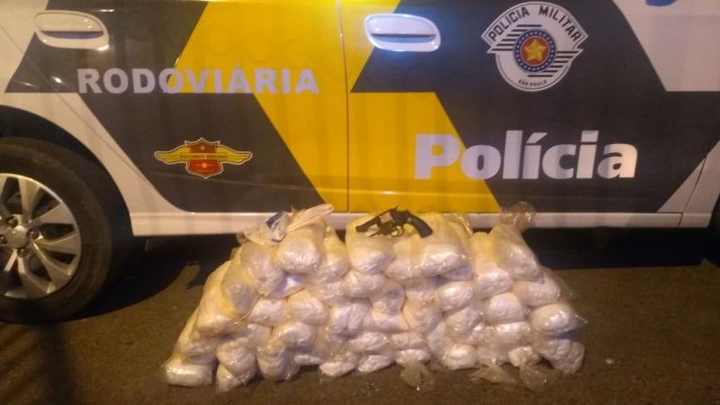 Polícia Militar Rodoviária -Apreensão ocorreu na Rodovia Arlindo Béttio, em Rosana