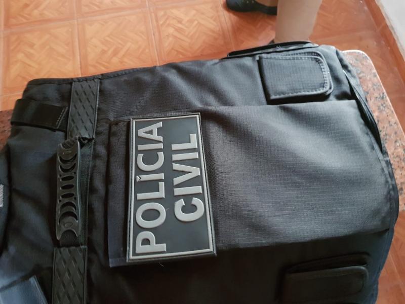 Polícia Civil - Investigação aponta que quadrilha utiliza uniformes da Polícia Civil nos crimes