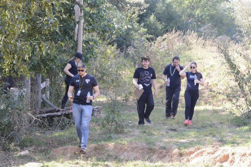 Cedida - Equipe Tereco Trekk foi uma das três iniciantes da etapa, disputada no fim de semana