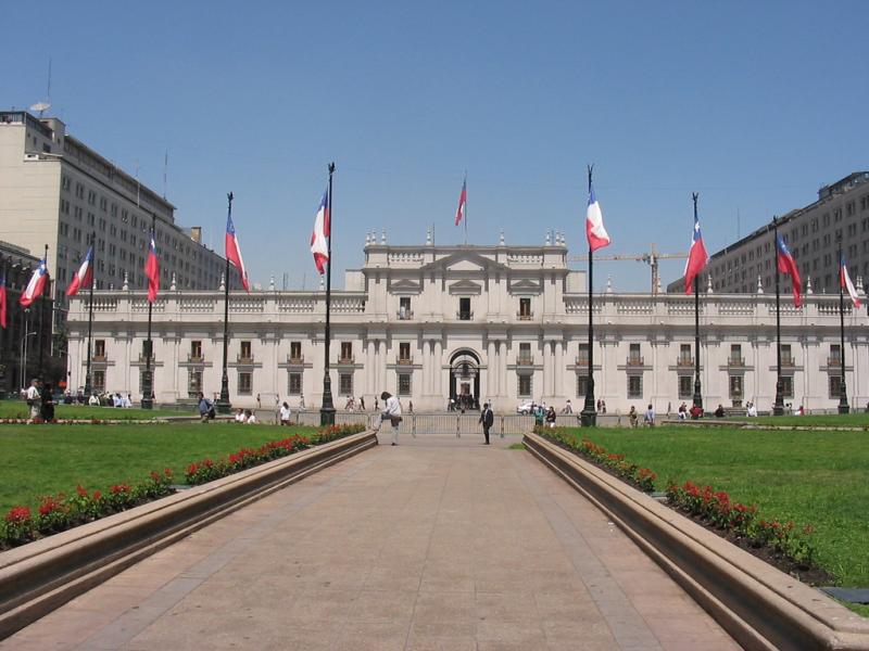 Jorge GG - Palácio de La Moneda: Construções dos séculos 18 e 19 convivem em harmonia com a arquitetura moderna